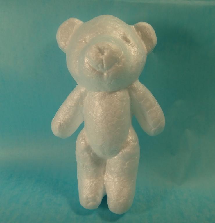 Медведь из пенопласта своими руками 7